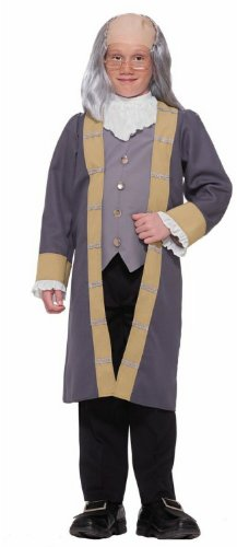 [Ben Franklin Child Costume - Medium 8-10] (Ben Franklin Costumes Child)
