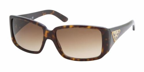 965973ae9eab4 Prada PR16LS PR 16LS 2AU6S1 Havana Acetate Frame Brown Gradient Lenses Sunglasses  Shades 57MM  Amazon.ca  Watches