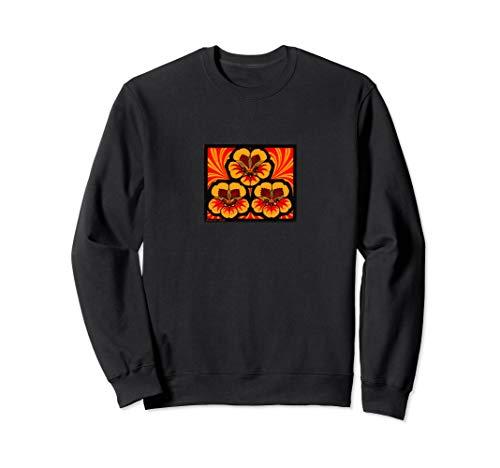 - Julie de Graag East Indian Cherry Illustration Print Gift Sweatshirt