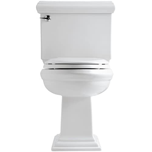 best KOHLER K-3816-0 Memoirs Comfort Height Two-Piece Elongated 1.28 gpf Toilet with Classic Design, White