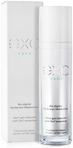 eXO Facial Skincare - Bio.digital Perfection Face Moisturizer | Anti-Aging, Natural Facial Lotion - Best Day & Night Face Cream (1.7 oz)