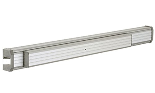 CRL Aluminum Finish Jackson 1295 Push Pad Rim Panic Exit Device - Non-Handed - 36; ()