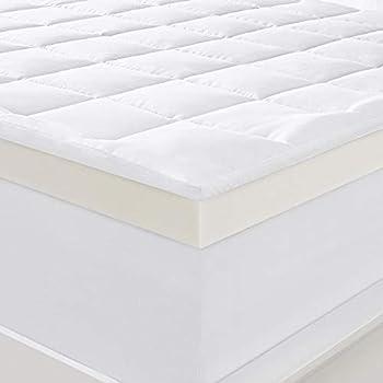 Amazon Com Serta 4 Quot Pillow Top And Memory Foam Mattress
