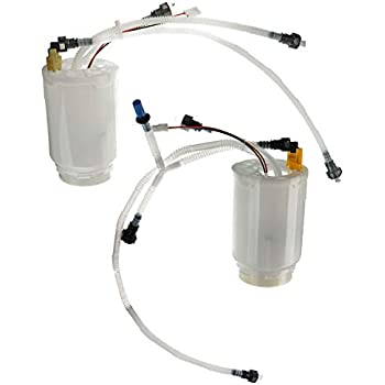 Set of 2 Electric Fuel Pumps Gas Driver /& Passenger Side LH RH Cayenne Pair