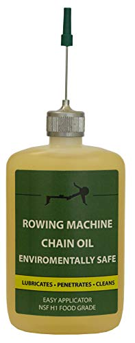 Concept 2 Rowing Machine Oil-Applicator Stops Waste-Food Grade-Environmentally Safe-Petroleum Free-Not just for concept two rower, can be used as chain lube bicycle oil or replace dry chain lube. 2 oz