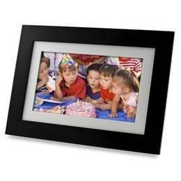 Pandigital 7'' LCD Digital Picture Photo Frame Black PI7056AWB