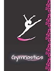 Gymnastics: Blank Lined Journal For Girls