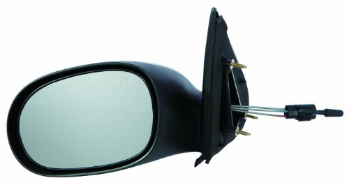 (Gold Shrine for 2000 2001 2002 2003 2004 2005 Dodge Neon Manual Side Mirror Driver Left Side Replacement CH1320158)