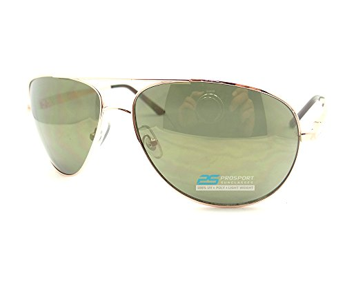 Aviator Big & Tall Sunglasses Extra Large and Wide Fit