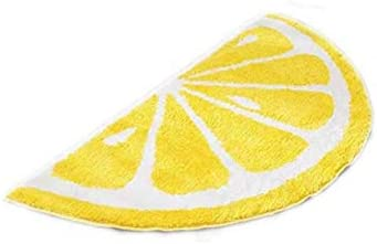 Lemon Cartoon Rug Carpet Water Absorption Non-Slip Kid s Bedroom Bathroom Door Mat Home Decor Lemon