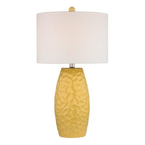 "Dimond Lighting D2500 Selsey Ceramic Table Lamp, 16"" x 16"" x 27"", Sunshine Yellow from Dimond Lighting"
