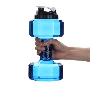 주말 여행 병동 여행 용품 - 2 독창적 인 휴대용 덤벨 병 물 주전자..