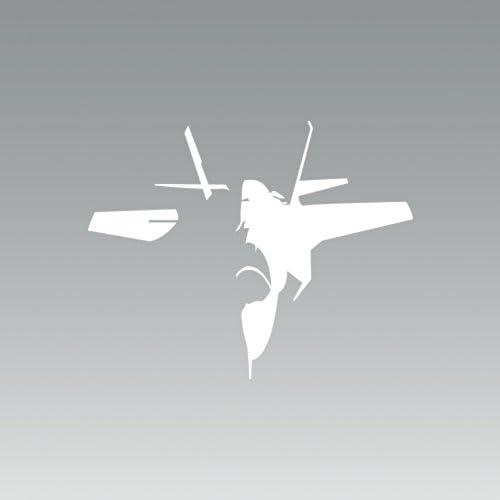 2x F-35 Lightning II Sticker Die Cut Decal Self Adhesive Vinyl Fighter F35