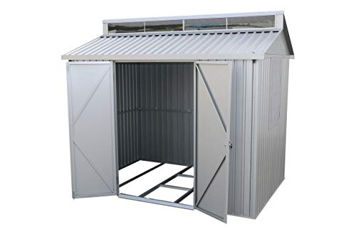Duramax 8x6 Aluminium Shed with Side Window