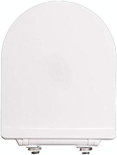 便座、V/U形便座ユニバーサル降順ミュート厚み付け簡単にトイレ用トイレ蓋カバー