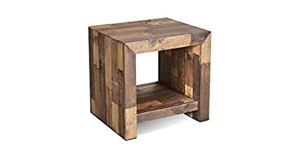 Amazon Com Crafters And Weavers Rustic Style Fulton Open End Table