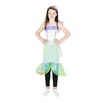 Bodysocks® Disfraz de Sirena Niña (4-6 años): Amazon.es ...