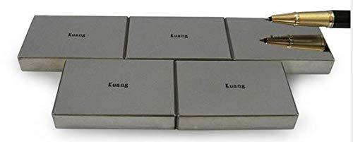 MeterTo Professional Standard Vickers Hardness Block 700-800 HV30 Rectangle Hardness Test Block Specular Surface