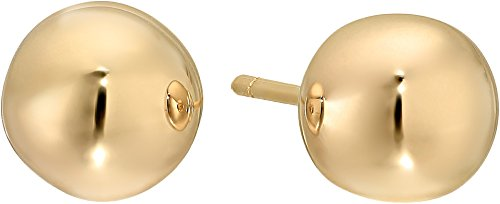 Roberto Coin Women's Small Pallini Ball Earrings w/ Posts 18k Yellow Gold One Size Roberto Coin 18k Ring