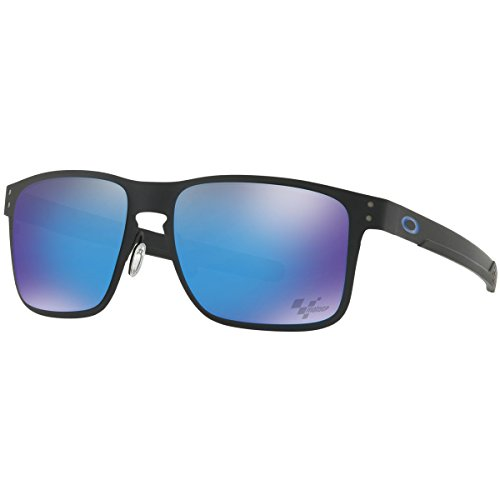Oakley Men's Metal Man Sunglass Square, Matte Black, 55 Mm