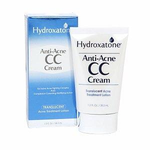 Hydroxatone anti-acné CC crème, translucide 1,3 onces liquides (38,5 ml)