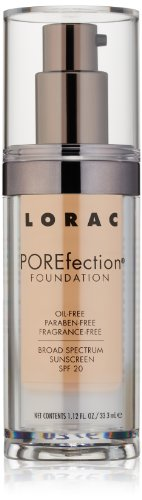 LORAC POREfection Foundation, PR5-Golden Light, 1.12 Fl Oz