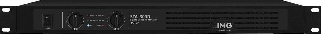 IMG Stage Line pour couple 300D stéréo PA Amplificateur numérique Noir