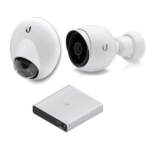 Price comparison product image Ubiquiti Networks UniFi G3 Series WA 2MP Indoor / Outdoor Day / Night IP Surveillance IR 3rd Gen Dome Camera - Bundle UniFi Cloud Key Gen2 Plus,  Ubiquiti UniFi UVC-G3-PRO 1080p Cam