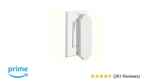 Mitzvah Family Magnetic Switch Outlet Cover For Flat Modern
