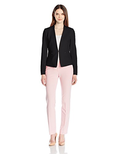 Tahari by Arthur S. Levine Women's Bistretch Open Front Pant Suit