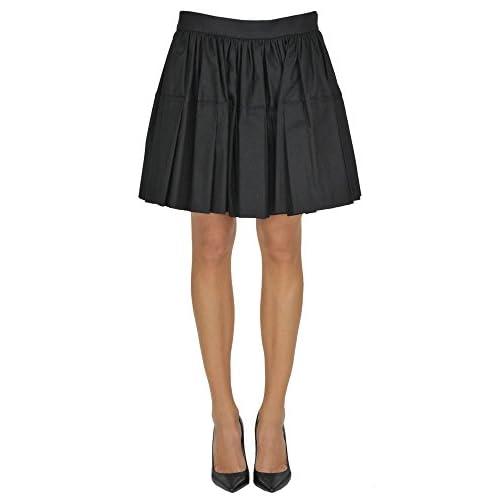 New DRIES VAN NOTEN Women's MCGLGNN03001E Black Cotton Skirt supplier