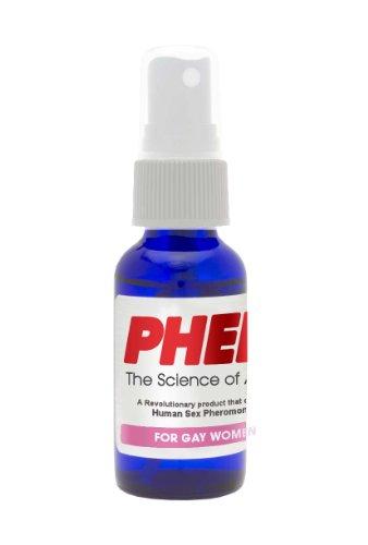PherX phéromone parfum pour femme Gay (attirer les femmes) - la Science de l'Attraction - 18mg de phéromones humaines