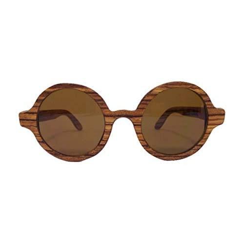 Óculos de sol de madeira Leaf Eco Layla Zebrano