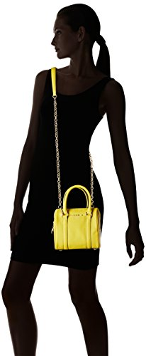 Nannini B10126, Borsa a Mano Donna, 18x16x10 cm (W x H x L) Giallo (Sole)