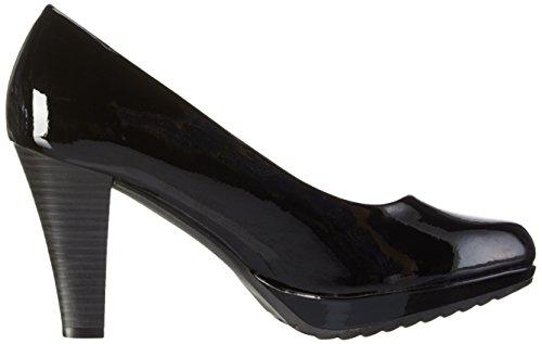 Marco Tozzi 22403, Zapatos de Tacón para Mujer Negro (BLACK 001)