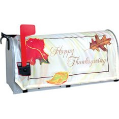 Premier Kites 58214 Mailbox Cover, Happy Thanksgiving, 18-Inch