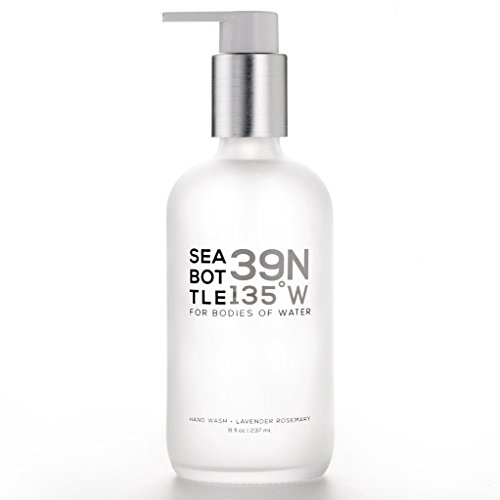 Sea Bottle Softening Hand Wash, Coastal Lavender, 8 fl. oz. ()