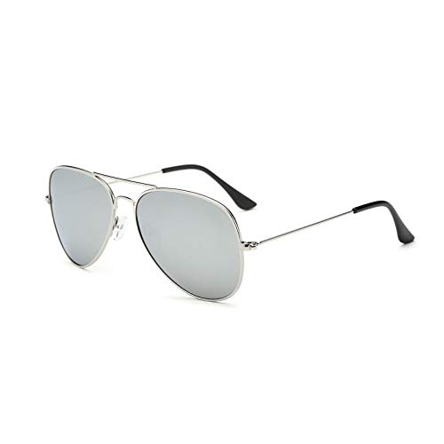 YOSHYA Aviator Sunglasses for Mens Womens Mirrored Sun Glasses Shades with Uv400 ()