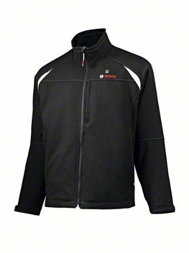 Bosch Professional - Chaqueta térmica calefactable para hombre, talla S (para baterías 12 V / 10, 8 V) sin batería ni cargador, chaqueta Softshell