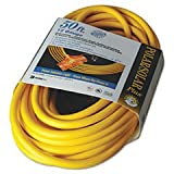 Coc 03488 50 ft. Polar & Solar Outdoor Extension Cord44; Three-Outlets - Yellow