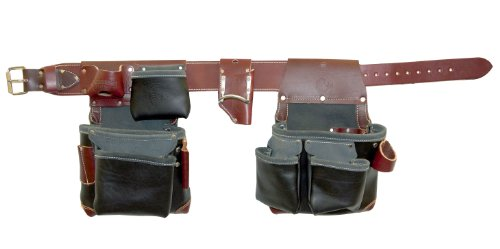 Occidental Leather B5625 XL Green Building Framer Set - In Black - Bon Tool Tool Bags