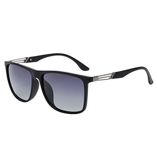 Safety Sol Gafas A de Gafas Driving Sol Sol Color Mirror Gafas Driver B Big de ultraligeras Frame de para Hombre Driver Retro g8IPqP