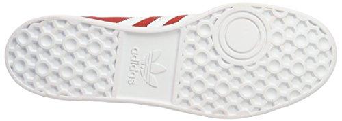 Rouge Homme footwear Hamburg Adidas Basket gold red White Mode Metallic 6qwRvgx1I