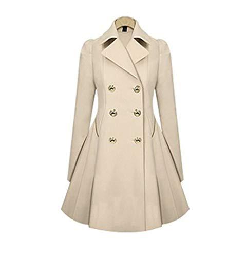 Froissé Manteau Pour Élégant Xin Coupe À Double Boutonnage Yuch vent Femmes dzwxTzY