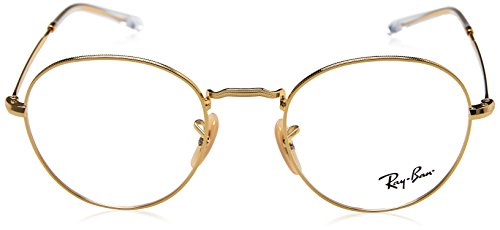 Ray-Ban rx3582v lunettes en or clairement temples RX3582V 2500 49 Clear Gold Clear