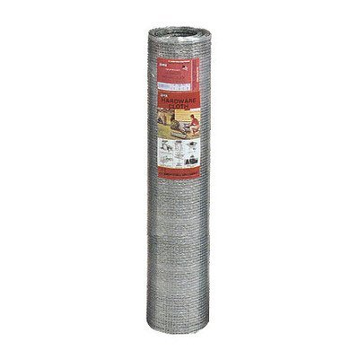 YARDGARD 308199B Hardware Cloth 24 Inch x 50 Foot, Silver