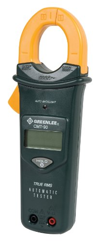 Greenlee CMT-90 AC/DC True RMS Automatic Electrical Tester, 1000 Volt by Greenlee