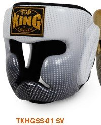 おすすめ トップキング TOP Mサイズ KING キックボクシング ヘッドギア 銀 スーパースター 銀 Mサイズ ヘッドギア B00RB9JWM0, ユノツマチ:ece9d438 --- a0267596.xsph.ru