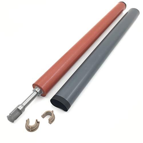 (OKLILI 1SET Fuser Lower Pressure Roller + Fuser Film Sleeve + Bushing for HP P1102 P1106 P1108 P1566 P1606 M1132 M1136 M1213 M1216 M1536 M125 M126 M127 M128 M201 M202 M225 M226 M1212 M1214 M1217 M1218)