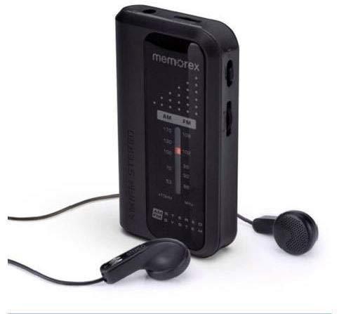 Memorex Portable Pocket Radio
